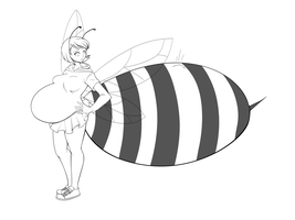 Commission: Bee by SaburoX by yunon