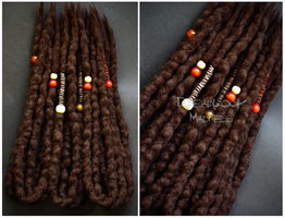 BROWN DREADS by dreadlockmadness