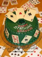 Bridge Player's Cake by CakeandCaboodle