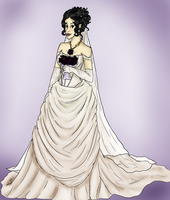 White Veil Occasion by allybee113