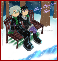 .Merreh Christmas Feri X3. by Phantomfan422