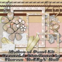 Mother of Pearl Scrap Kit by ReZZyN