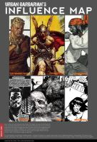 UrbanBarbarian's Influence Map by urban-barbarian