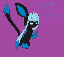 My Glaceon Form by EeveelutionsGoddess