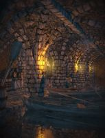 Underdocks - Robber's Grotto by OrestesGraphics