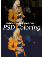 PSD Coloring Number Two by whitehorse4