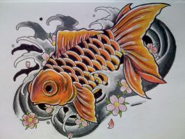 Goldfish. by Kirzten