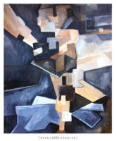 Ballerina Cubism by Immonia