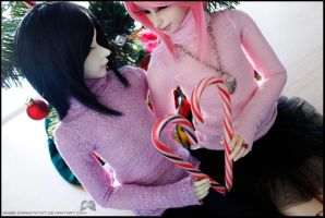 Of love and candy canes I by Angie-Chan070707