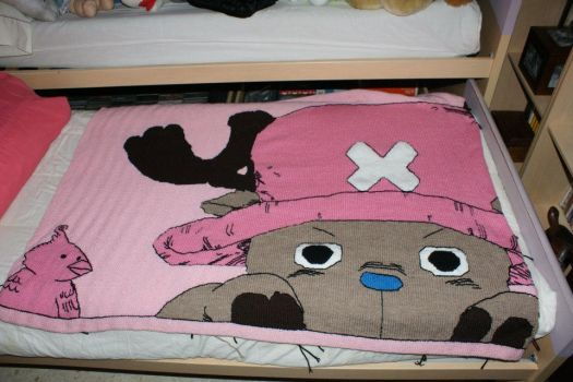 Tony Tony Chopper blanket. One Piece by SSelphieSS