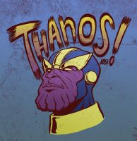 Day 6 - Thanos by gadgetwk