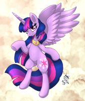 MLP FIM - Grown Up Princess Twilight Sparkle by Joakaha