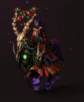 Merry WoWmas by NightmareHound