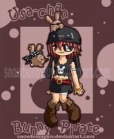 Original 04- Bunny Pirate by snowbunnyluv