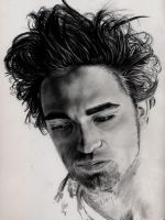WIP2 RPattinson Reluctant Idol by CezLeo