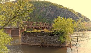 Harpers Ferry Bridges by brona02227