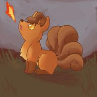 Vulpix by NeoTheBean