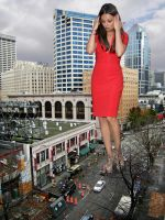 Mila Kunis Red Dress by danforddan