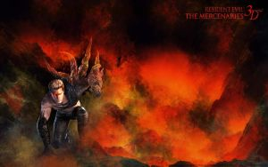 Albert Wesker: Mercenaries 3D by Aletheiia90