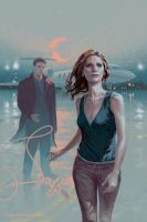 Buffy the Vampire Slayer cover season 10 issue 18 by StevenJamesMorris