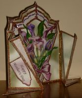 Side view 2 of Flowers for my Mum on Mothers Day by blackrose1959