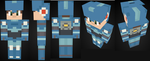 [Minecraft] Megaman (Legends) by BladeMaverick