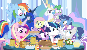 Thanksgiving with the Family Sparkle by dm29