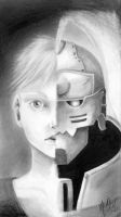 Alphonse Elric - Two sides by SparrowsFancy