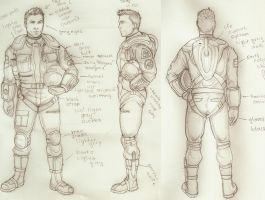 Flight suit design by Holly-the-Laing