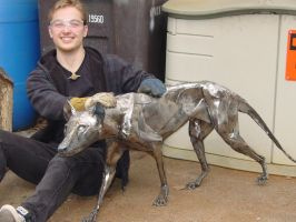 Metal Thylacine Final Polish by Smerjeevski