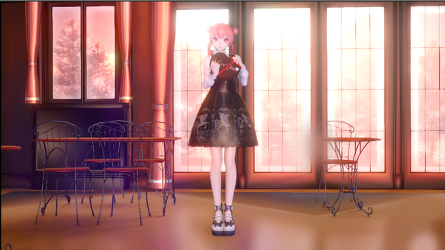 MMD Lovely Teto +Dl by Chibi-Snorlax