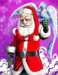 santa and winter Hawk1 edited-3 by PM-Graphix