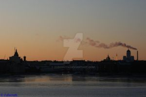 Helsinki Sunset by Zuberiuth