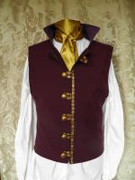Steampunk-Victorian-Mad Hatter waistcoat PCW13-9 by JanuaryGuest