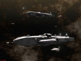 Commando Class Corvettes by ILJackson