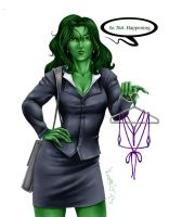 She Hulk by GreenGosselin