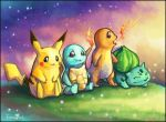 .+. First Starters .+. by FionaHsieh