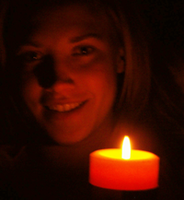 candle and me. by t3amo