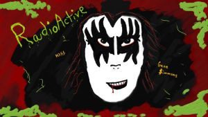 Gene Simmons radioactive by Micky1966