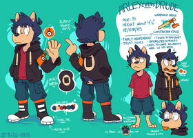 Arley Evans Drude - Reference Sheet - Late 2015 by Ionic-Isaac