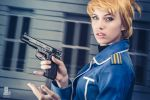Riza Hawkeye by MeganCoffey