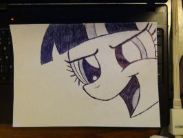 Twilight Sparkle pen by Nammi-namm