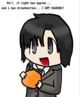 matsuda and his orange by FoxFire-Alchemist