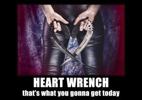 heart wrench by MichalTokarczuk