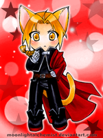 FullMetal Kitty: Edward Elric by MoonlightAlchemist