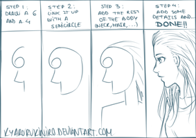 How to draw Tutorial by KyaroruKiniro