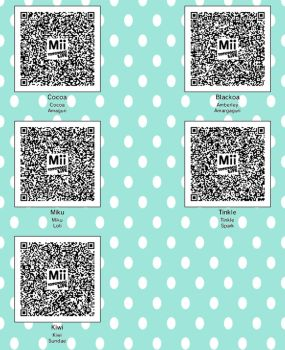 Tomodachi Life qr codes :3 by TefiMk