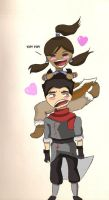 Love is... Makorra! by NelielDante