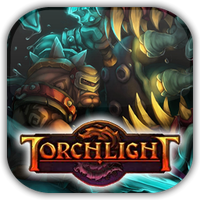Torchlight Game Icon 4 by Wolfangraul