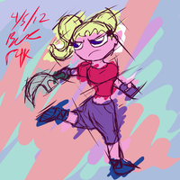 Axe Girl by Twisted4000